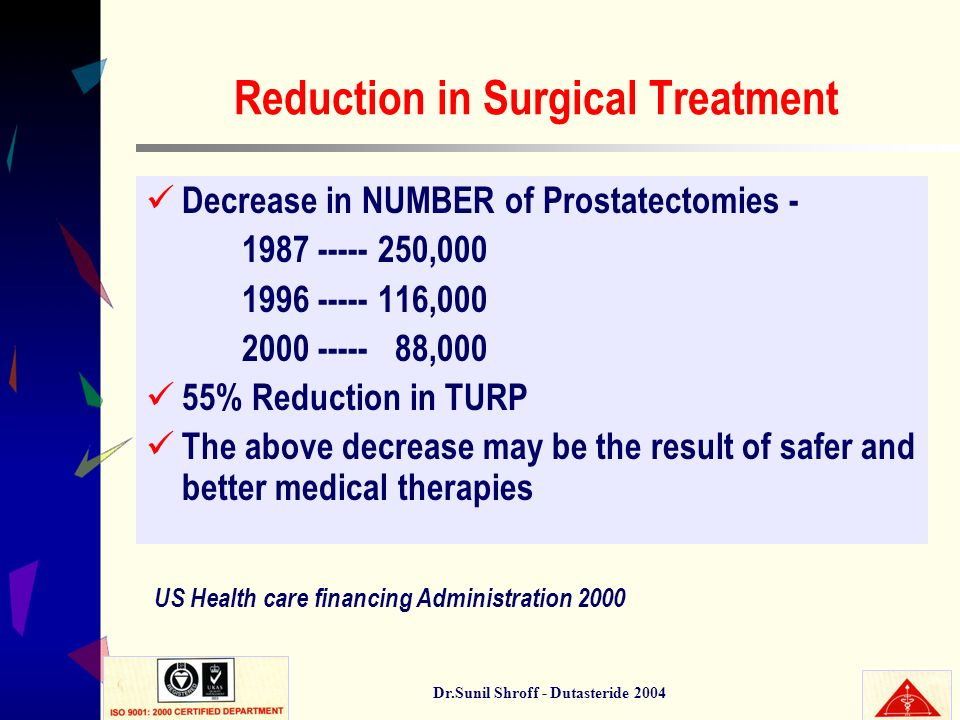 Reduction in Surgical Treatment