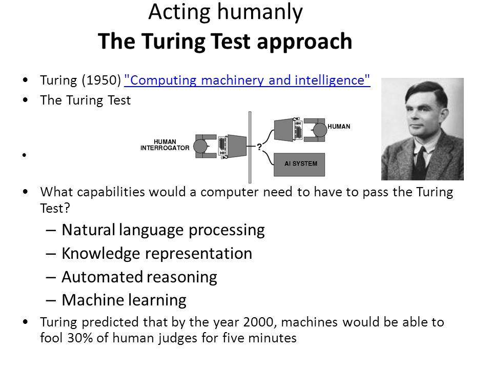 computing machinery and intelligence pdf