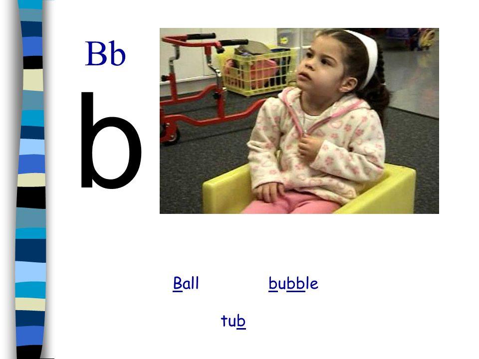 Bb b Ball bubble tub