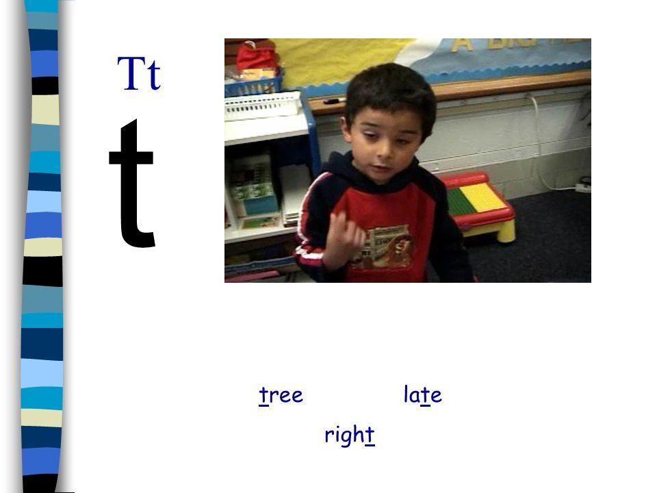 Tt t tree late right
