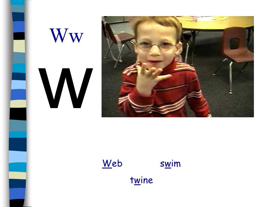 Ww w Web swim twine