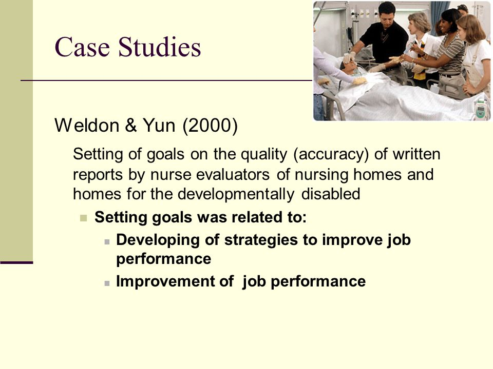 Case Studies Weldon & Yun (2000)