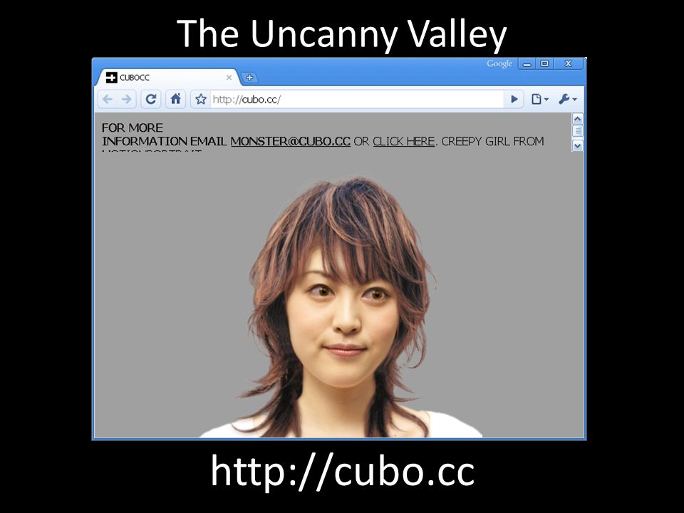 uncanny vally chatbot