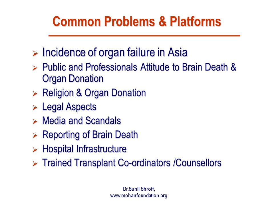 Common Problems & Platforms