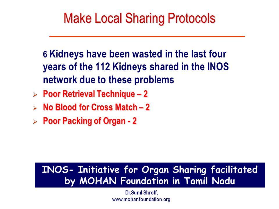 Make Local Sharing Protocols