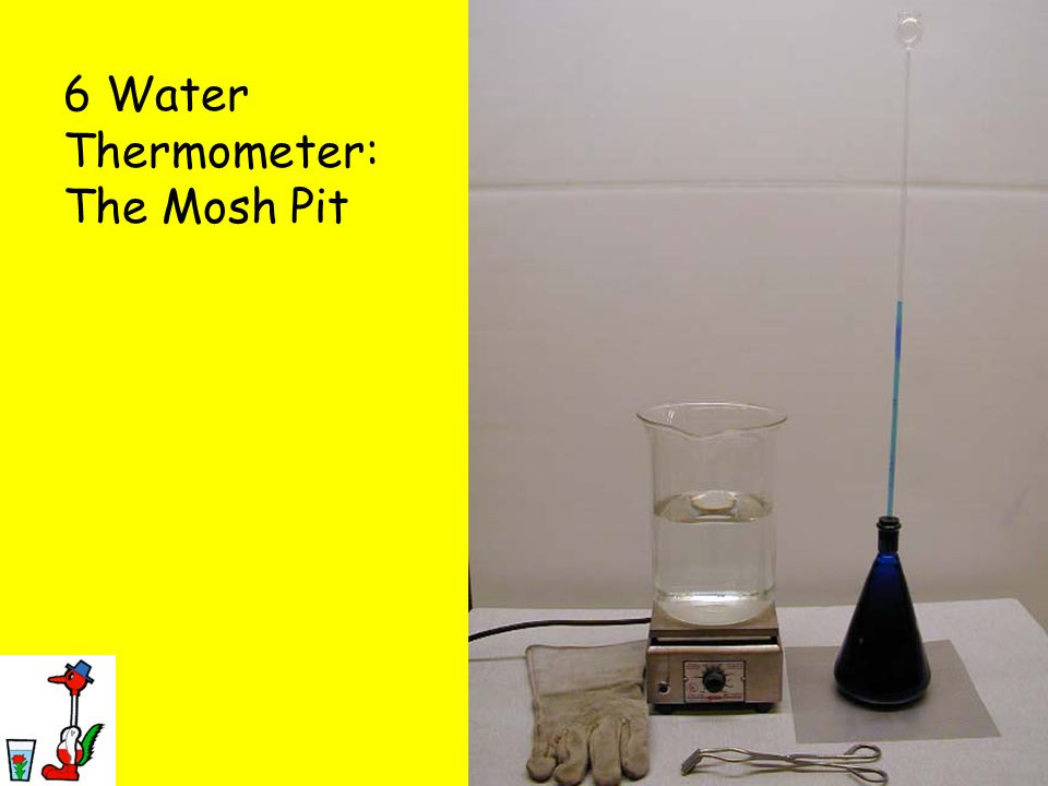 6 Water Thermometer: The Mosh Pit
