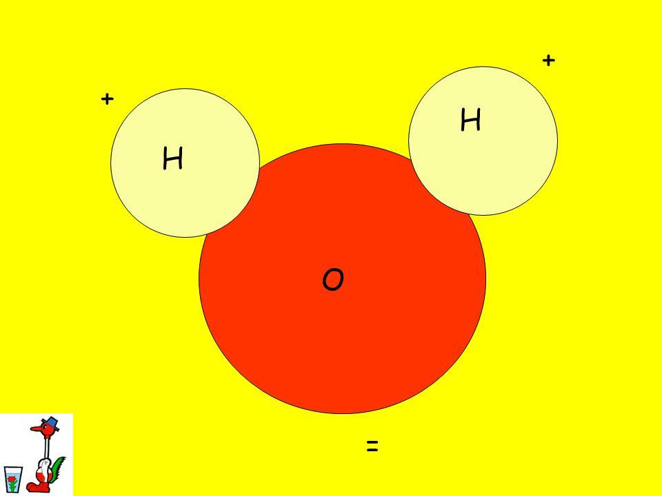 + + H H O =