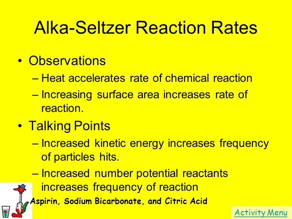Alka-Seltzer Reaction Rates