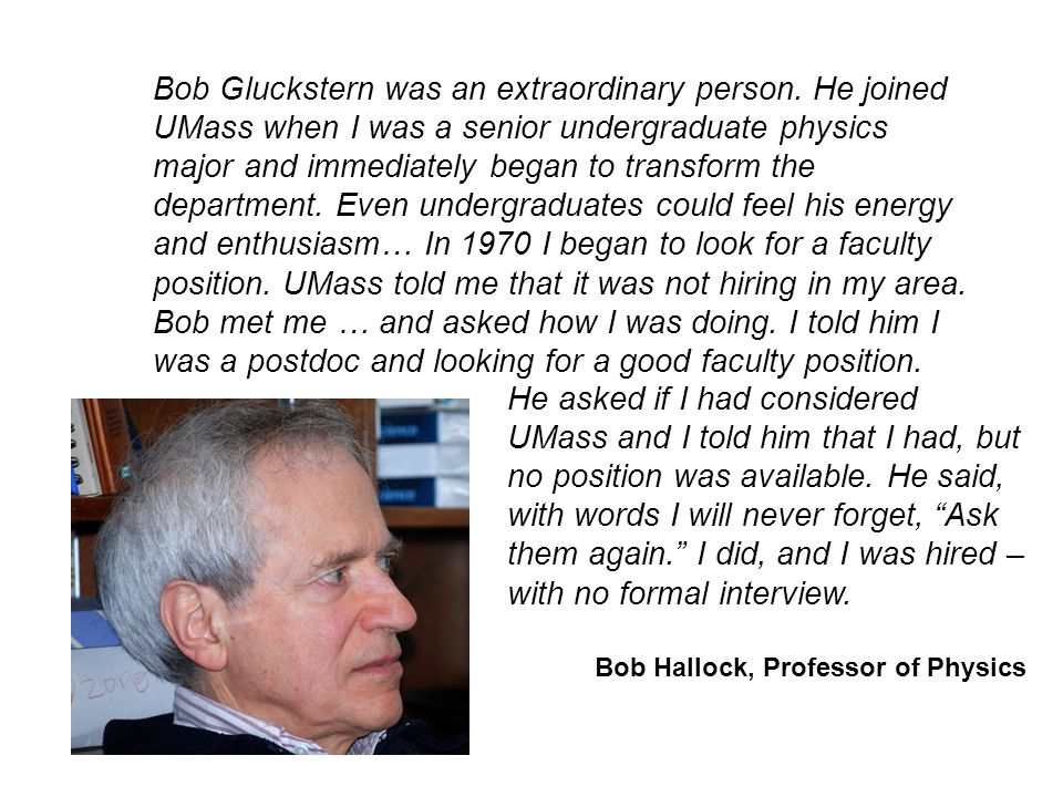 Bob Gluckstern was an extraordinary person