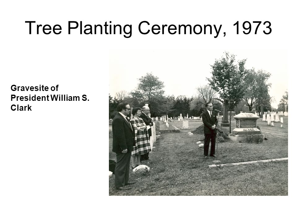 Tree Planting Ceremony, 1973