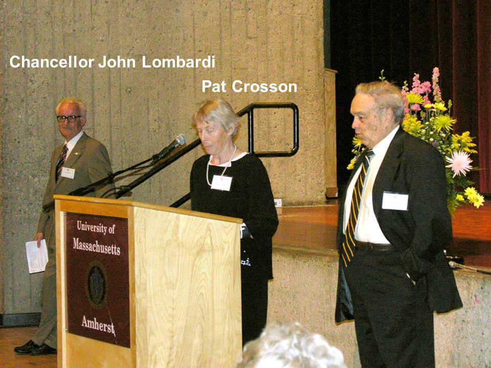 Chancellor John Lombardi