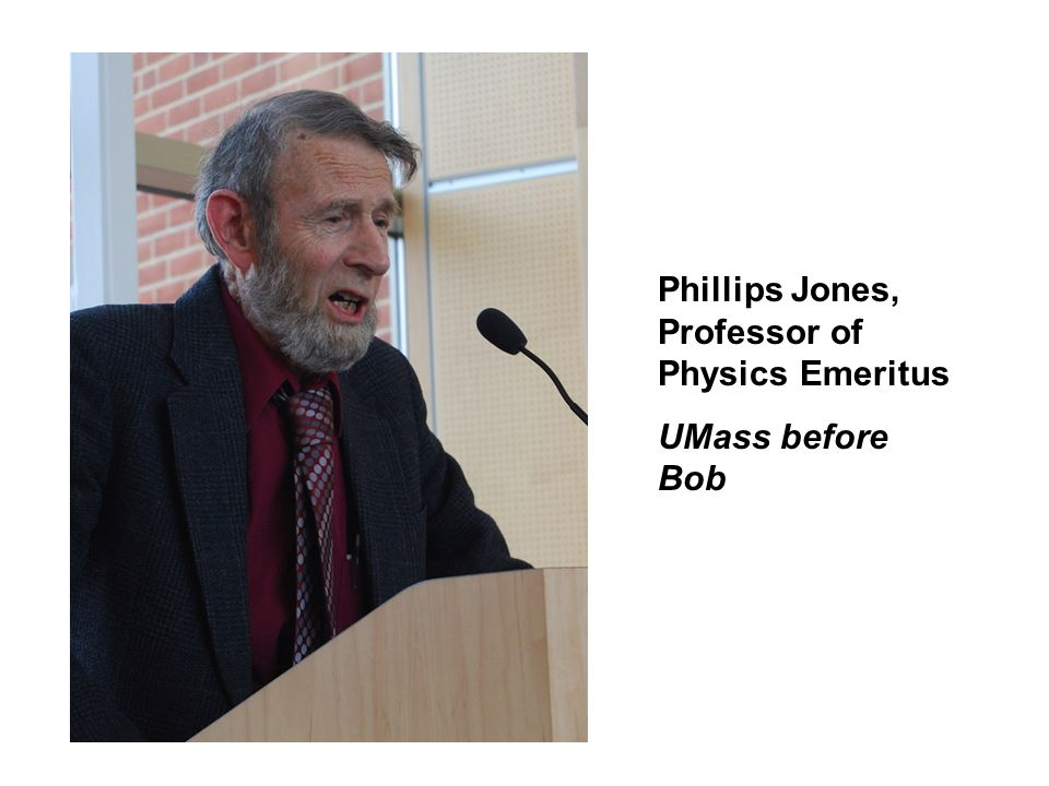 Phillips Jones, Professor of Physics Emeritus