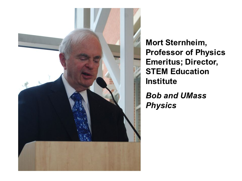 Mort Sternheim, Professor of Physics Emeritus; Director, STEM Education Institute