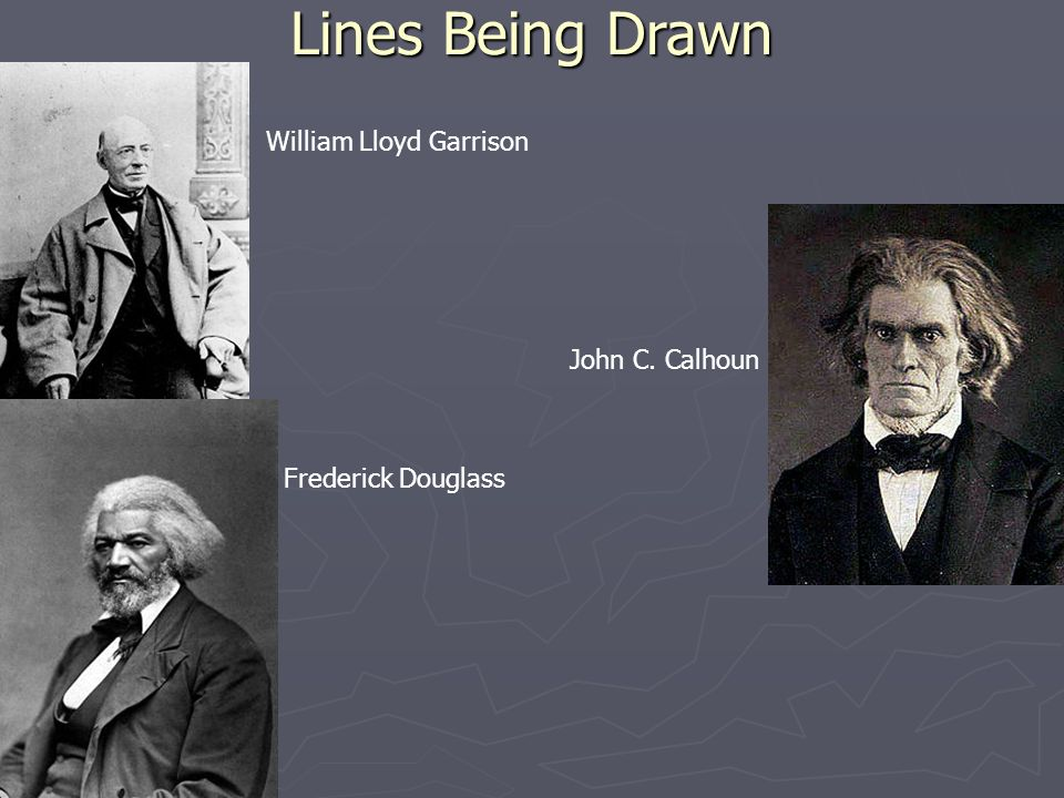 an analysis of the friendship between frederick douglass and william lloyd garrison What role did douglass play in the abolitionist movement william lloyd garrison's the liberator his own book douglass' friends and his mentors were.