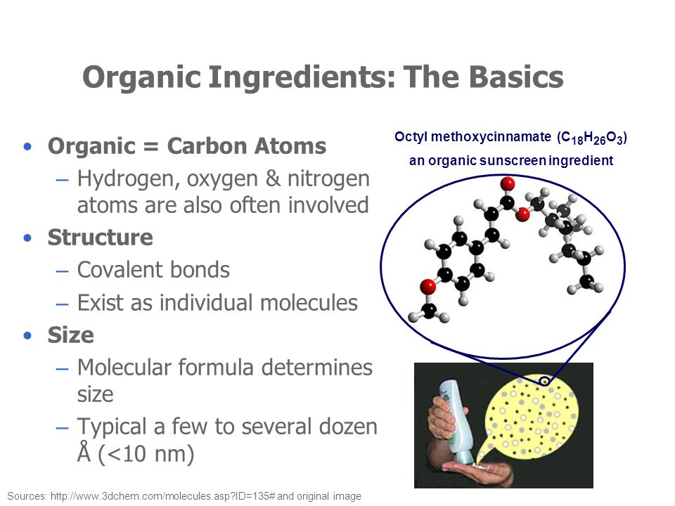 Organic Ingredients: The Basics