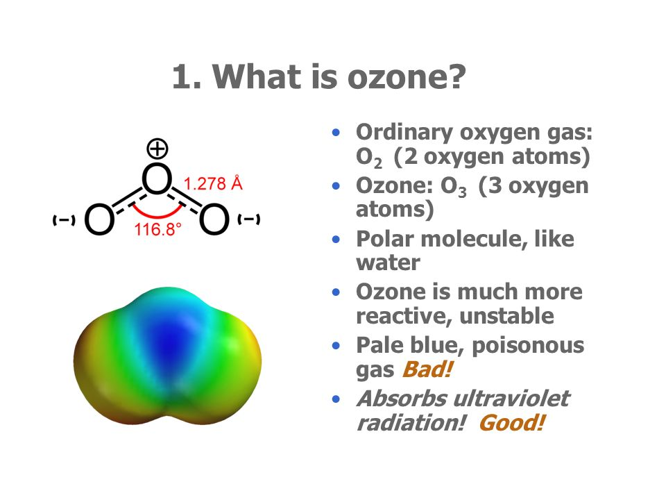 Ozone, UV, and Nanoparticles
