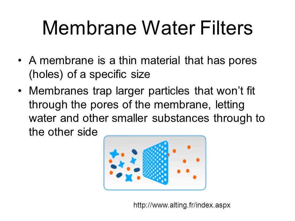 Membrane Water Filters