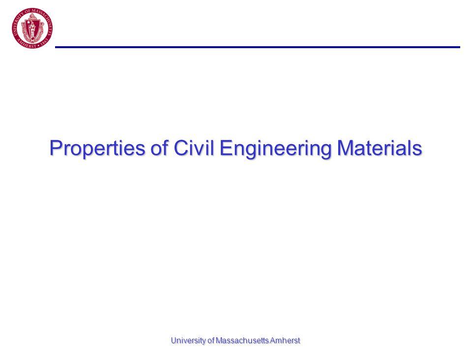 Properties of Civil Engineering Materials