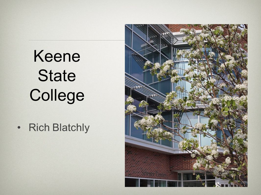 Keene State College Rich Blatchly