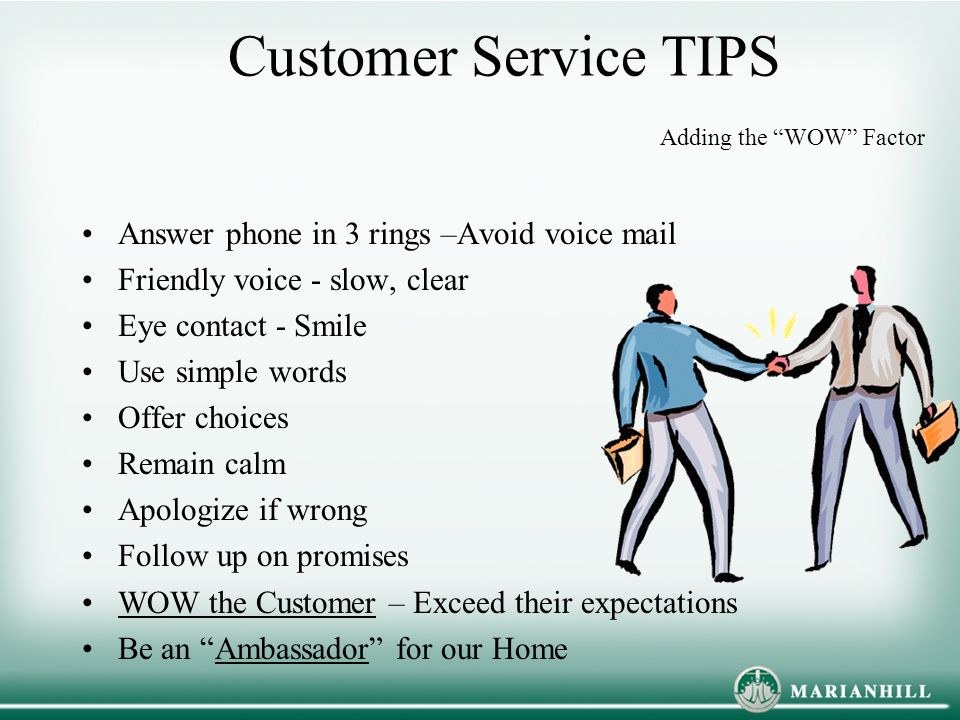 customer service presentation ideas Customer service training games and activities five free customers service training games the following are five free customer service training games that we have used with clients during our customer service courses for more than a decade.