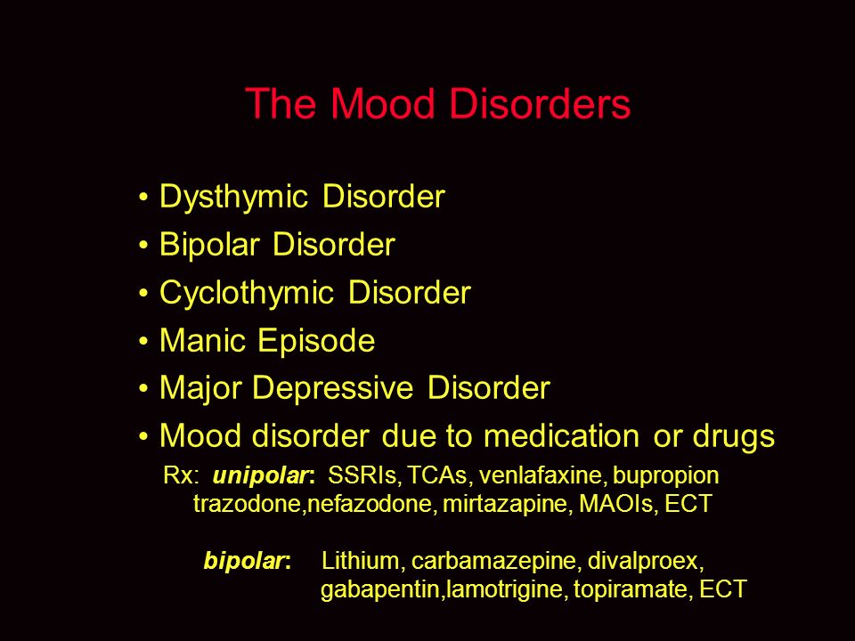 depakote in mood disorders