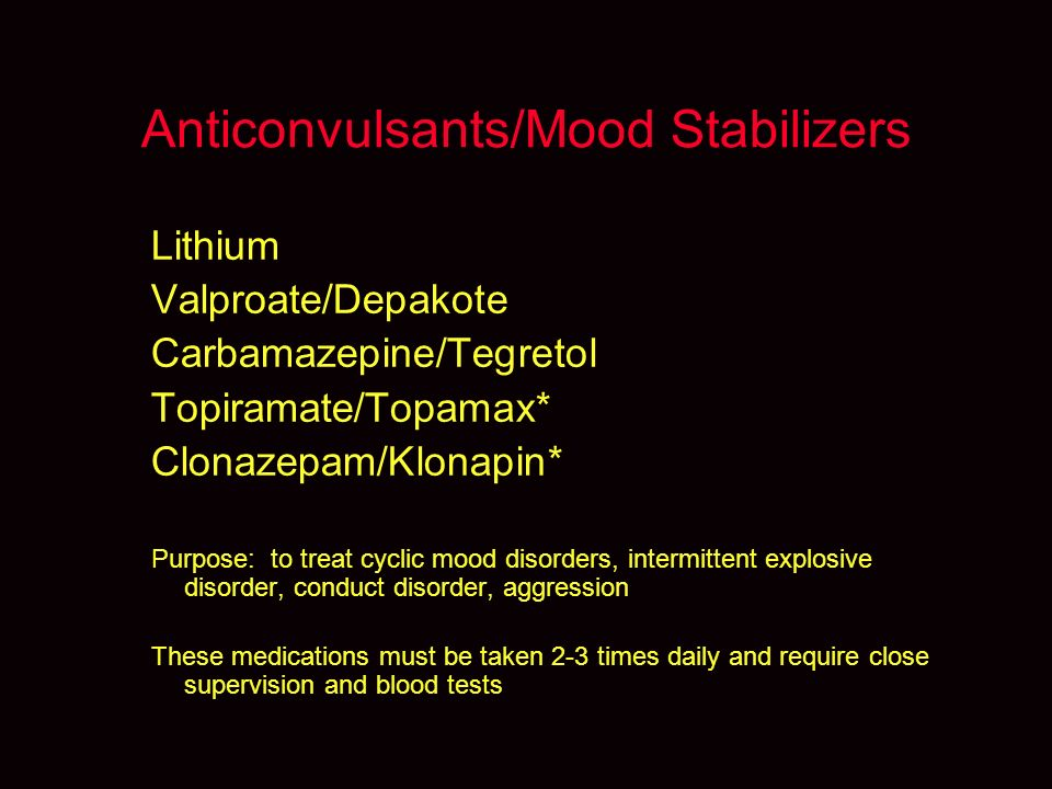 topiramate and mood disorders