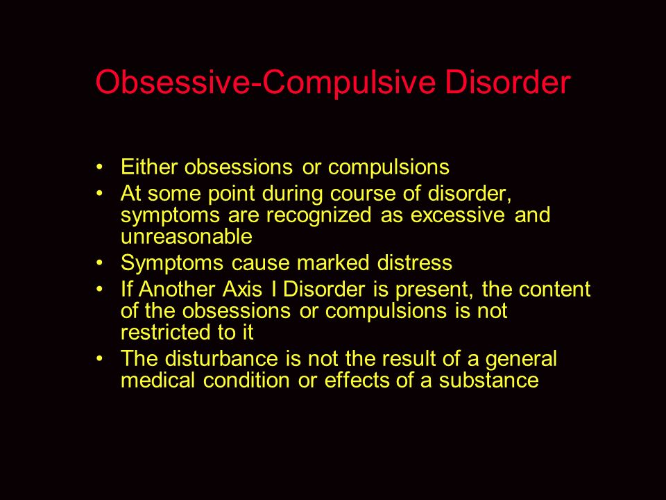 the obsessive compulsive disorder essay Free essays regarding obsessive compulsive disorder ocd essay for download 1 - 25.