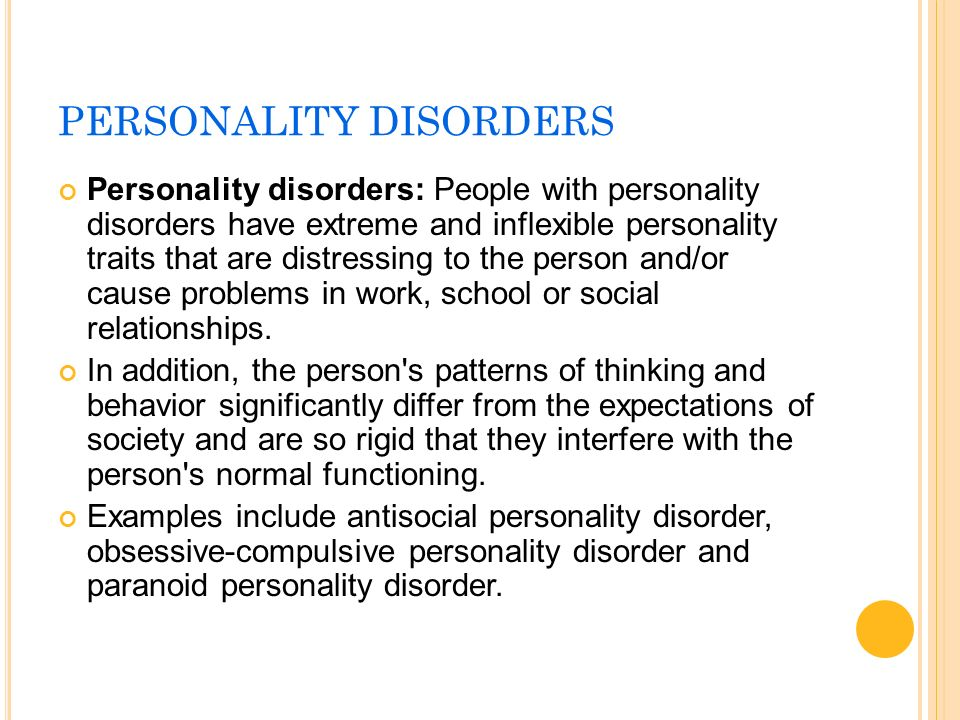 paranoid personality disorder case example An introduction to paranoid personality disorder  individual with this personality disorder react in a social life for example they will have recurrent suspicions.
