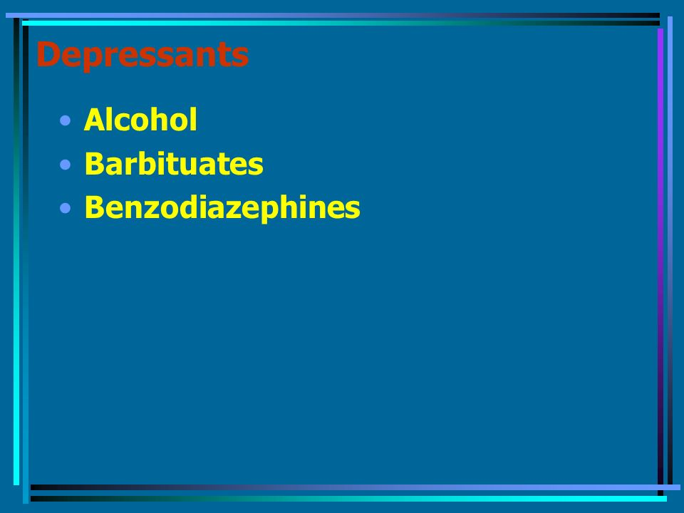 depressants alcohol - photo #38