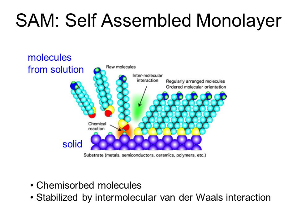 SAM: Self Assembled Monolayer