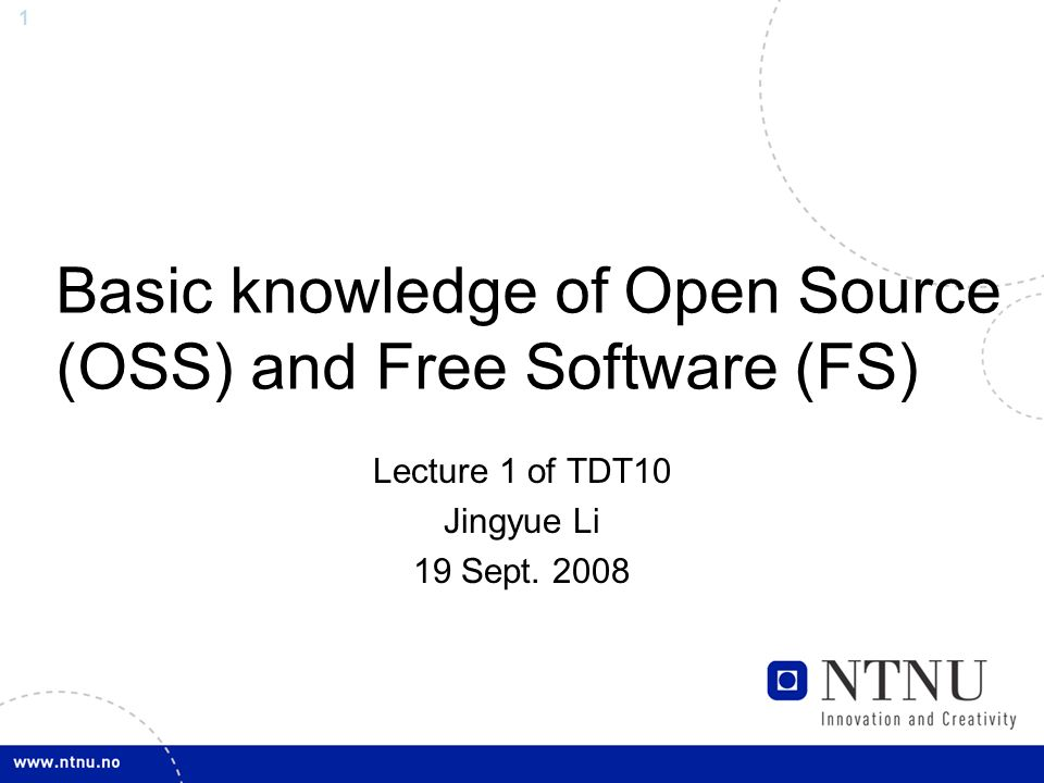 Basic knowledge of open source oss and free software fs ppt basic knowledge of open source oss and free software fs fandeluxe Images