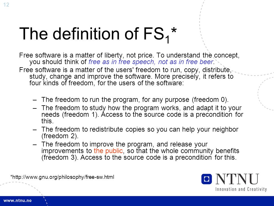 the definition and concept of freedom The modern concept of political liberty has its origins in the greek concepts of freedom and slavery to be free, to the greeks, was not to have a master, to be independent from a master (to live as one likes) [12.