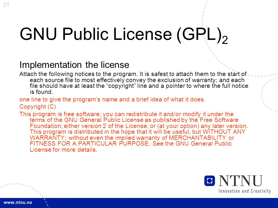 gnu public licenses The gnu general public license is a free, copyleft license for software and other  kinds of works the licenses for most software and other practical works are.