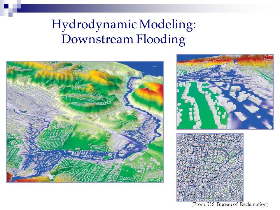 Hydrodynamic Modeling: Downstream Flooding