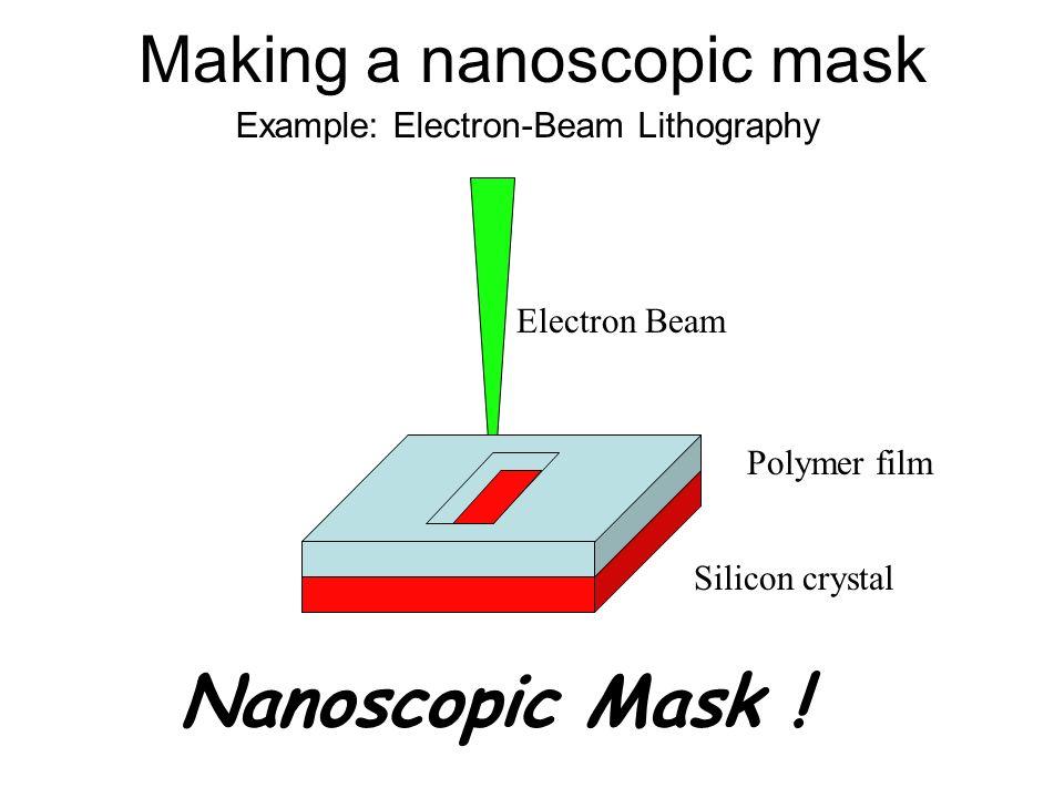 Making a nanoscopic mask