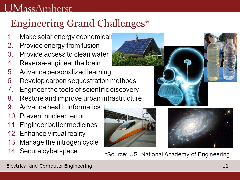 Engineering Grand Challenges*