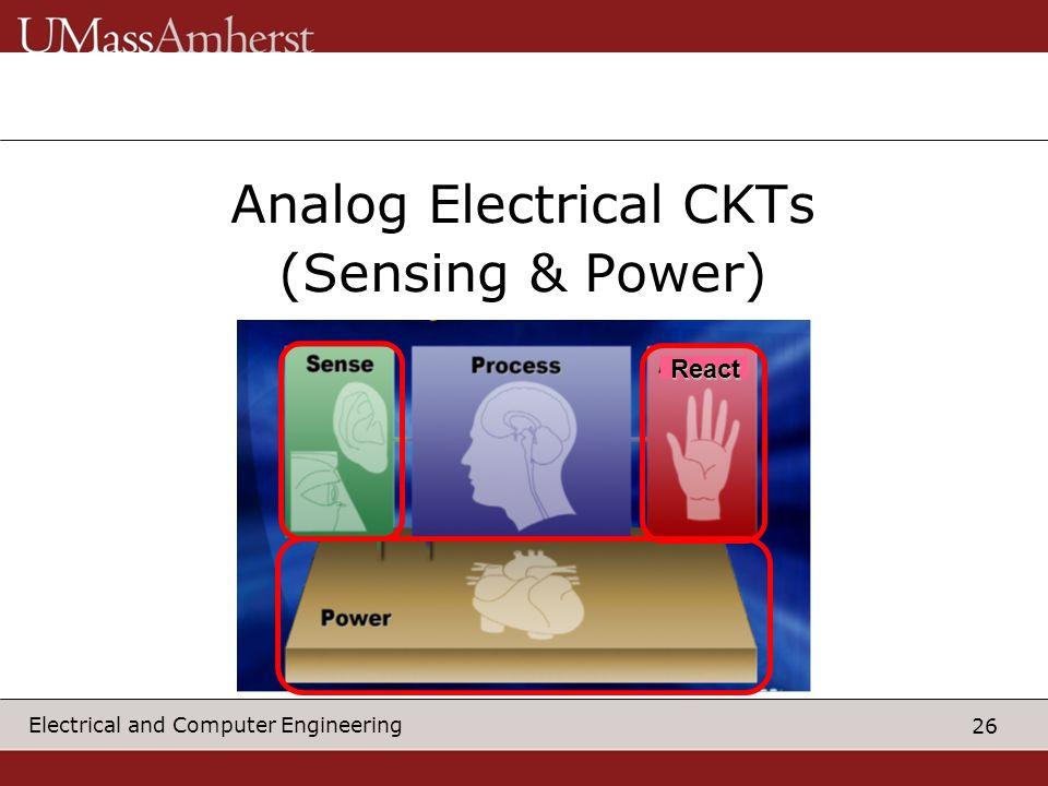 Analog Electrical CKTs
