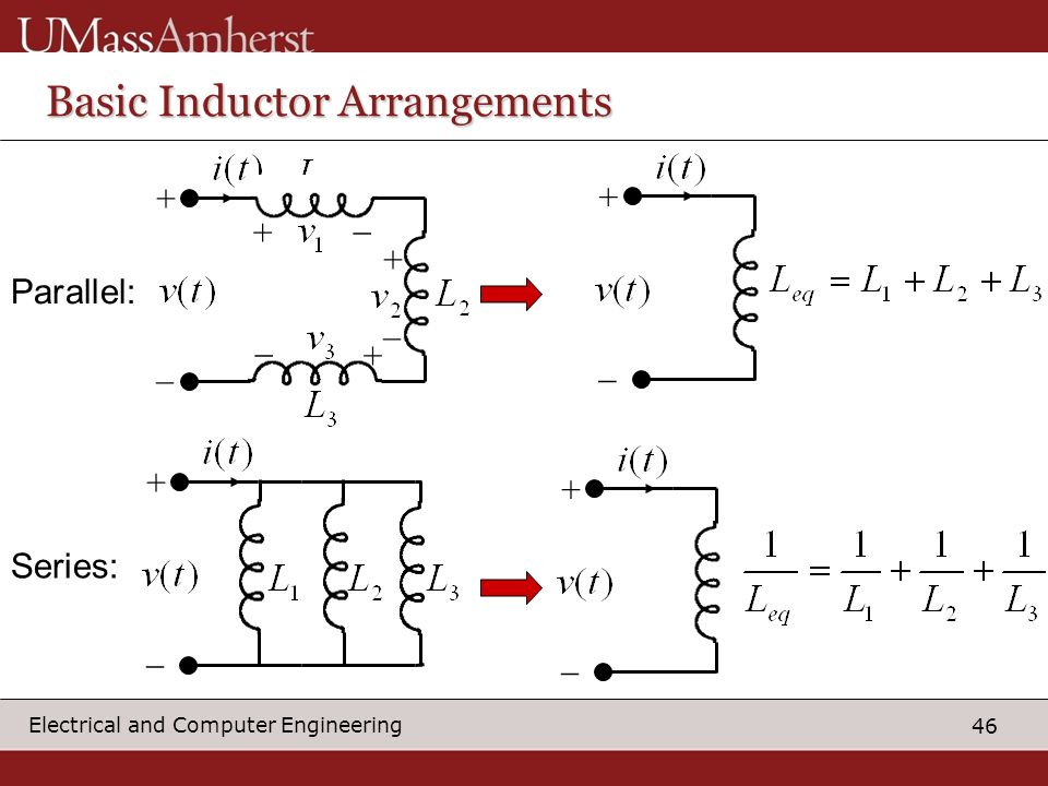 Basic Inductor Arrangements