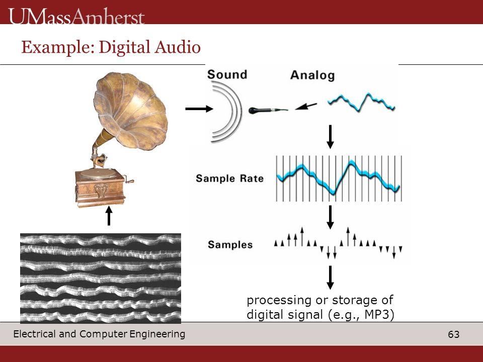 Example: Digital Audio