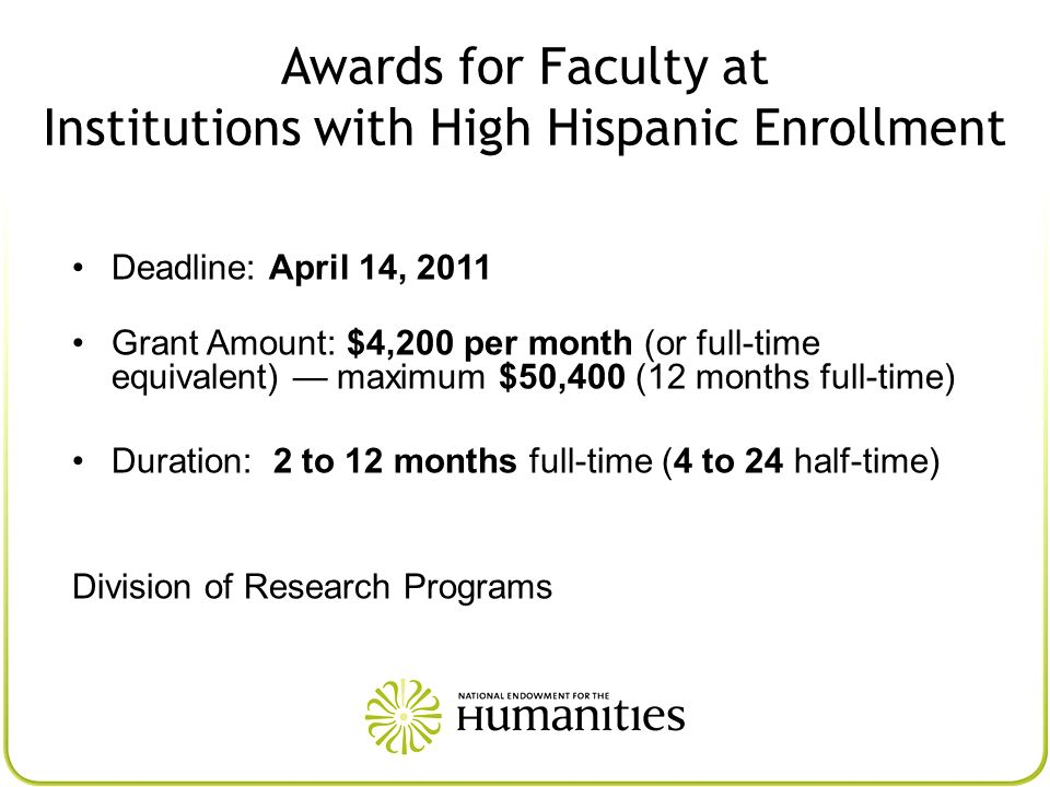 Institutions with High Hispanic Enrollment