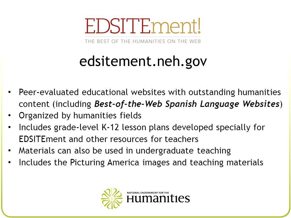 EDSITEment edsitement.neh.gov