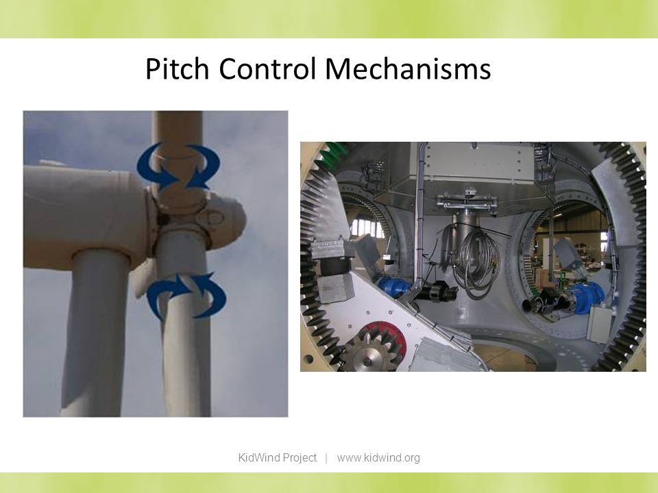 Pitch Control Mechanisms