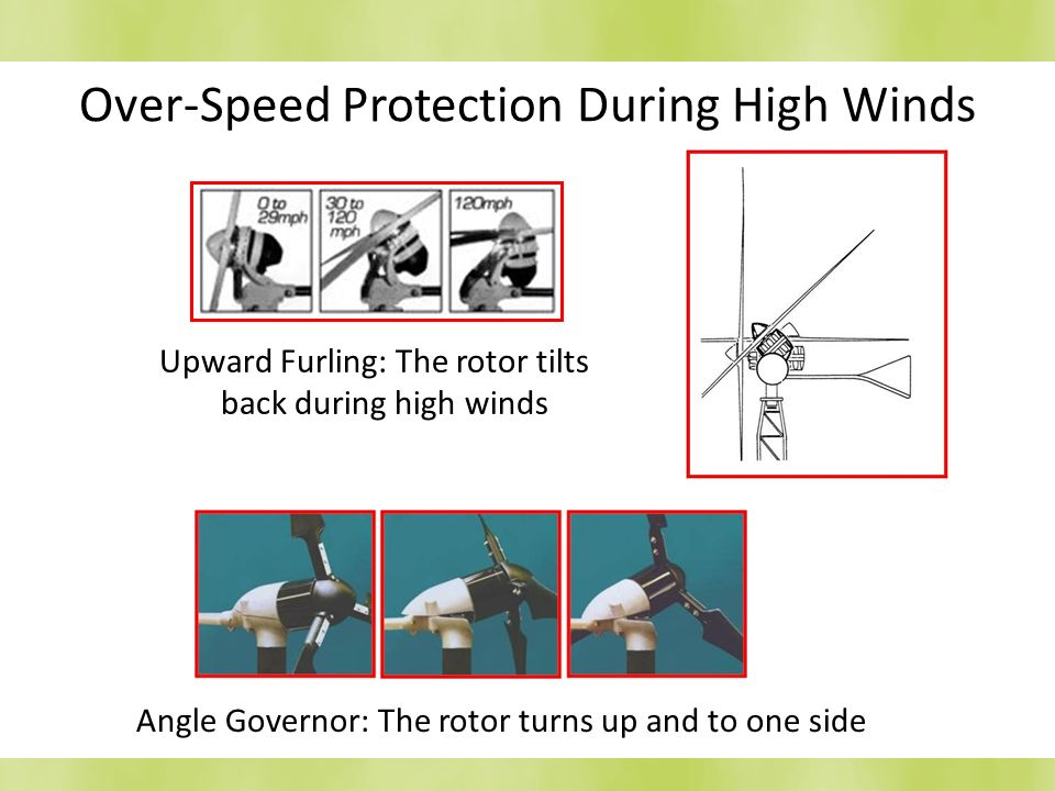 Over-Speed Protection During High Winds