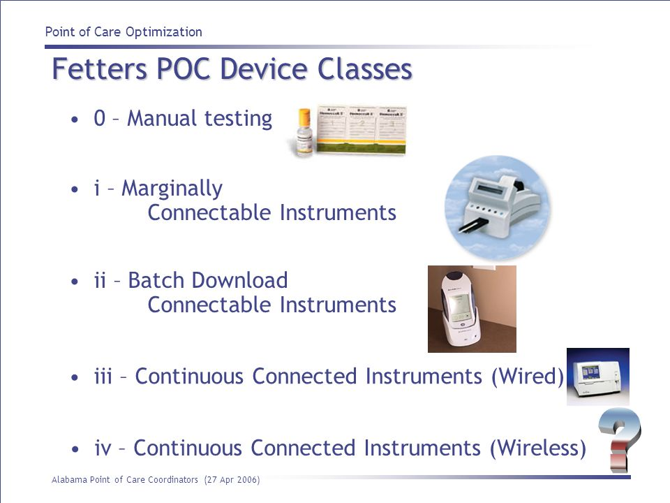 Fetters POC Device Classes