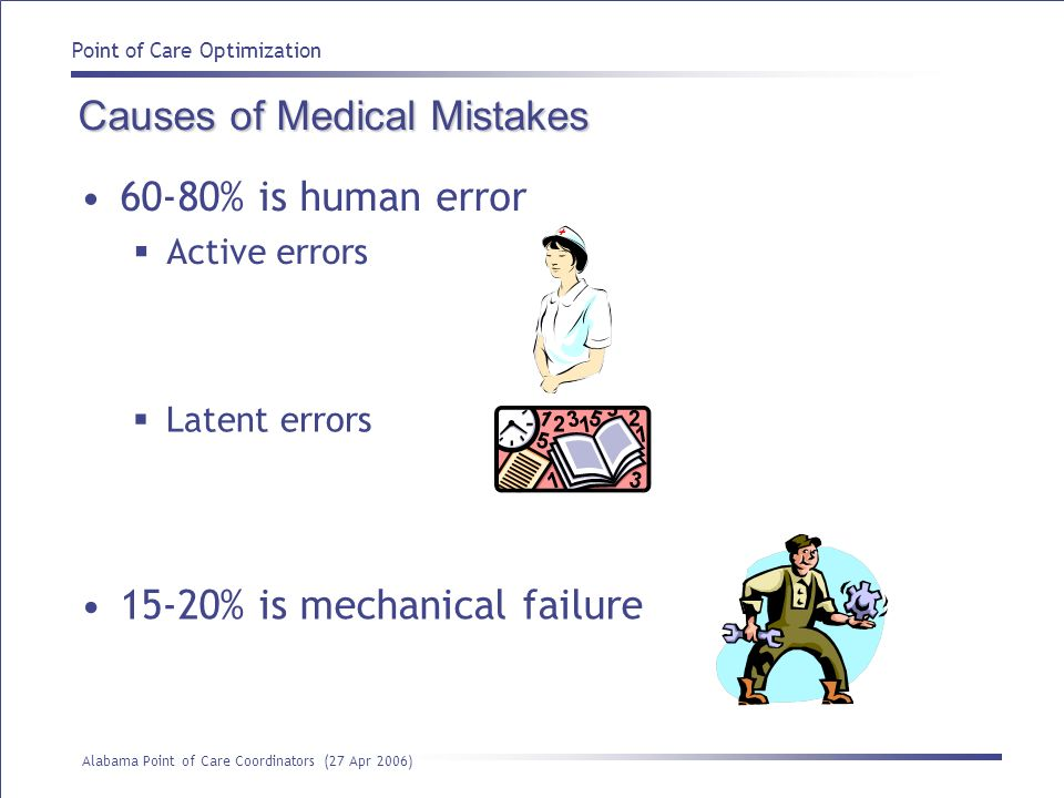 Causes of Medical Mistakes