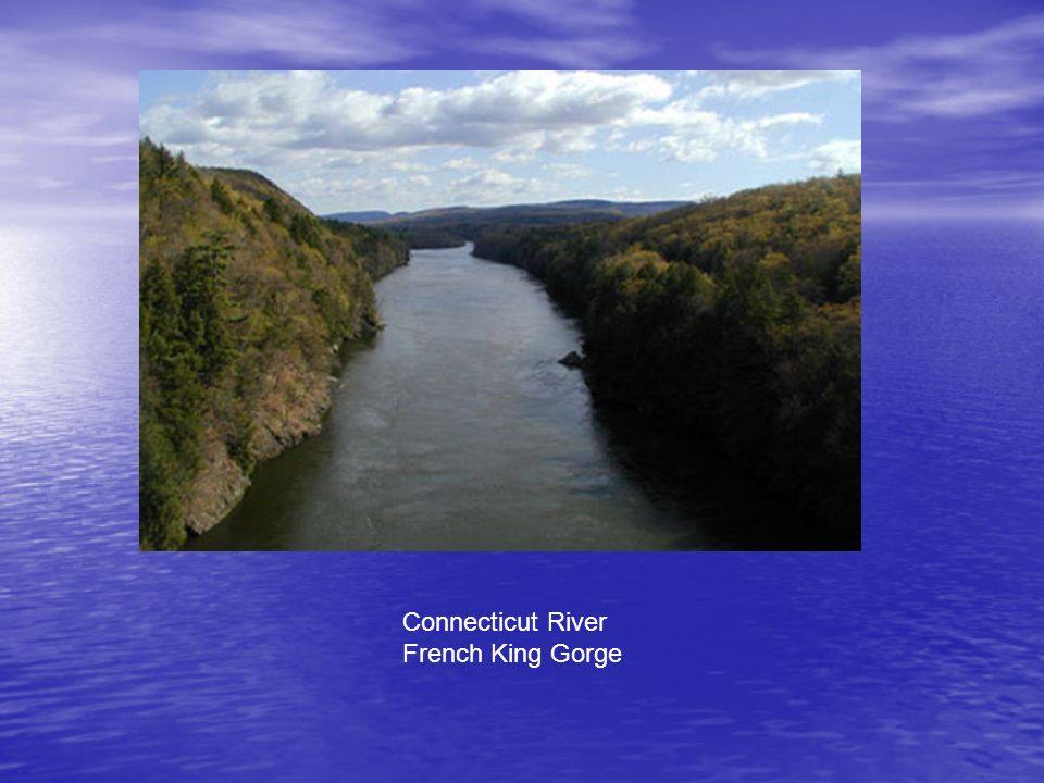 Connecticut River French King Gorge