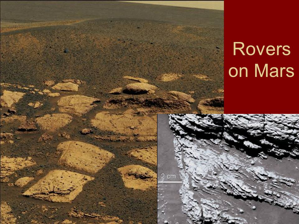 Rovers on Mars