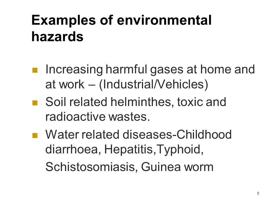 Environmental Hazards Education for Childbirth Educators