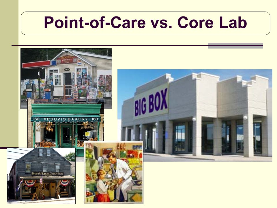 Point-of-Care vs. Core Lab