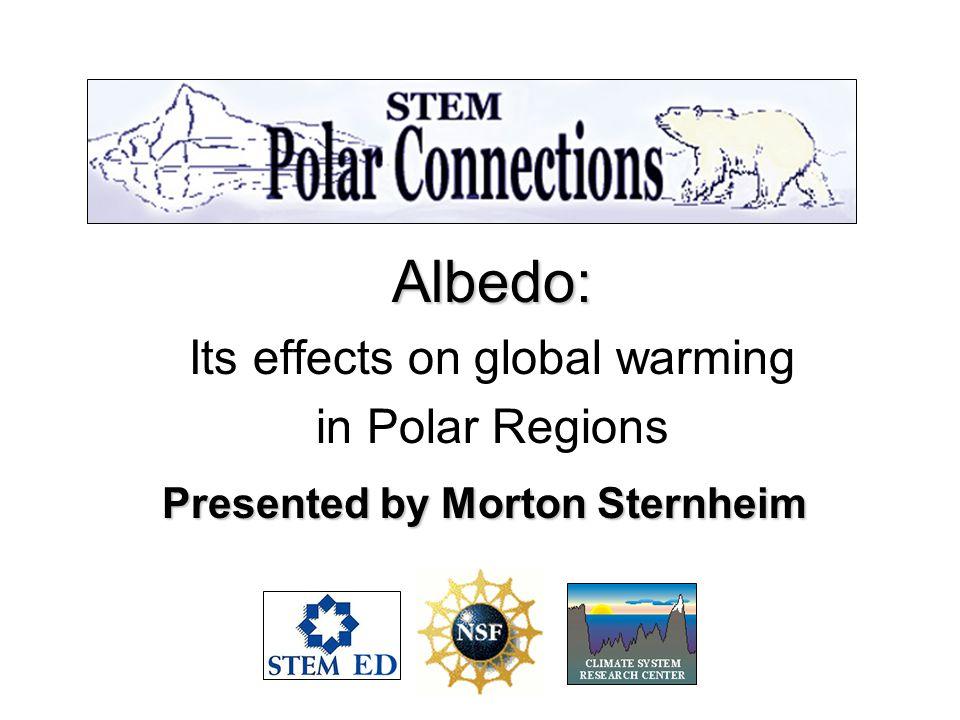Presented by Morton Sternheim